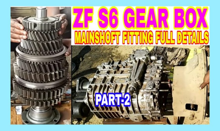 ZF S6-36 Gearbox Mainshaft Assembley ii Setp By Step Part-2,