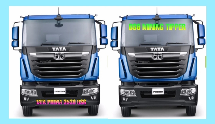 BS6 Tata Prima 3530 Mining Tipper Full Review and Specificat